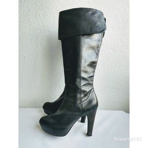 Frye Anna Cuff Pull On Boots Size 7.5